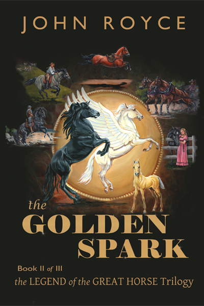THE GOLDEN SPARK bookcover