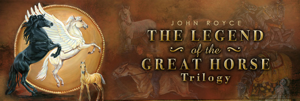 The Legend of the Great Horse trilogy - header image