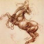 "da Vinci's ""Rearing Horse"""