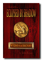 Eclipsed by Shadow - Book #1 of The Legend of the Great Horse trilogy - Bookcover (straight-on, drop shadow) 142px by 203 px