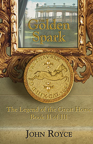 "The Golden Spark bookcover;The Golden Spark"" bookcover (2011)"