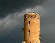 Castle Sobrezy under attack
